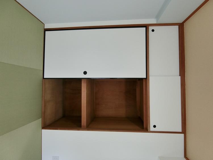 押入れです。たっぷり収納できるのでお部屋を有効に使うことが出来ます。