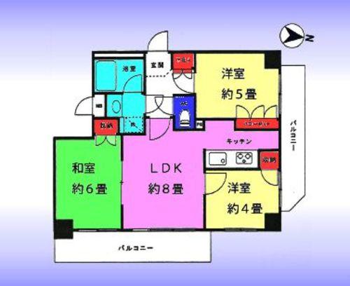 マイキャッスル竹ノ塚2の画像
