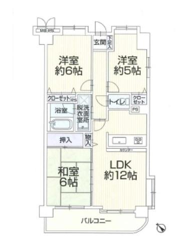 ライオンズマンション京王堀之内第5の画像