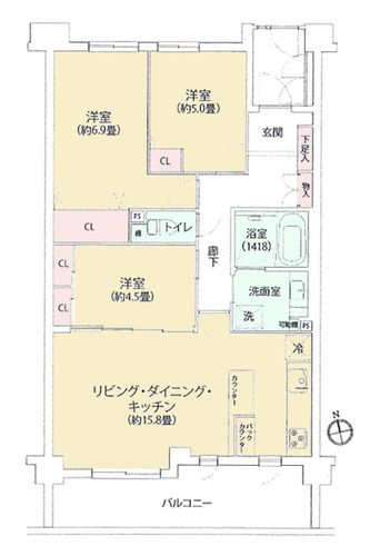 アーデル小金井本町の物件画像