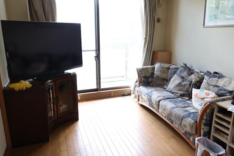 お部屋をつなげて、広々としたリビングに変更することも出来ます。