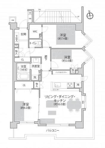 三ツ沢パーク・ホームズ参番館の画像