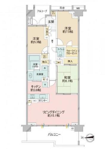 グランドメゾン東戸塚1番館の物件画像