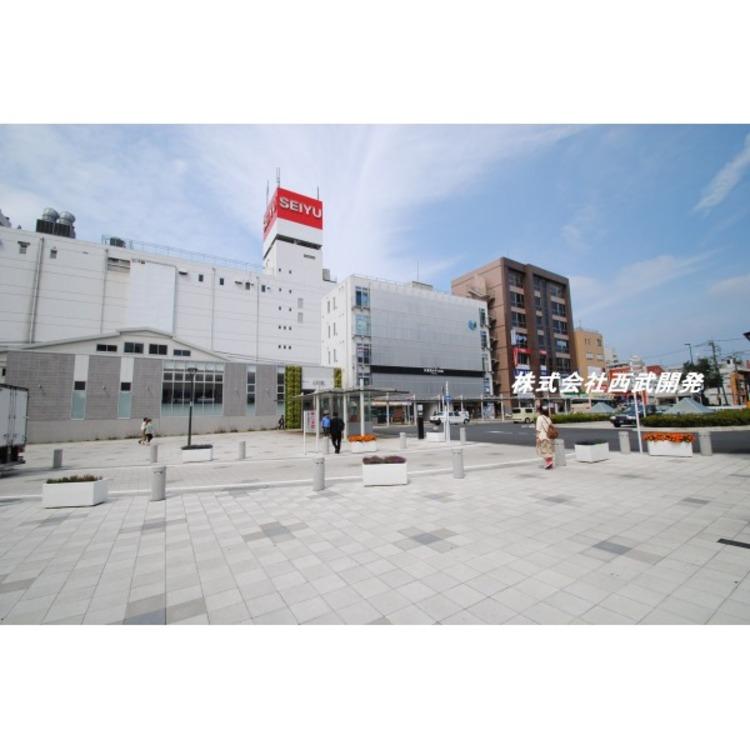 久米川駅北口広場(約170m)