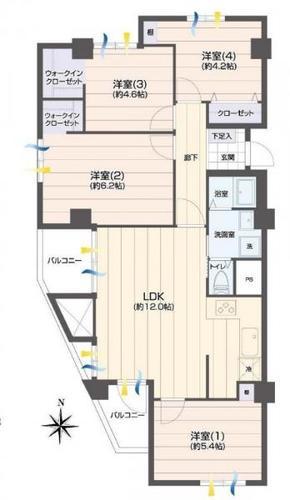 陽輪台横浜の物件画像