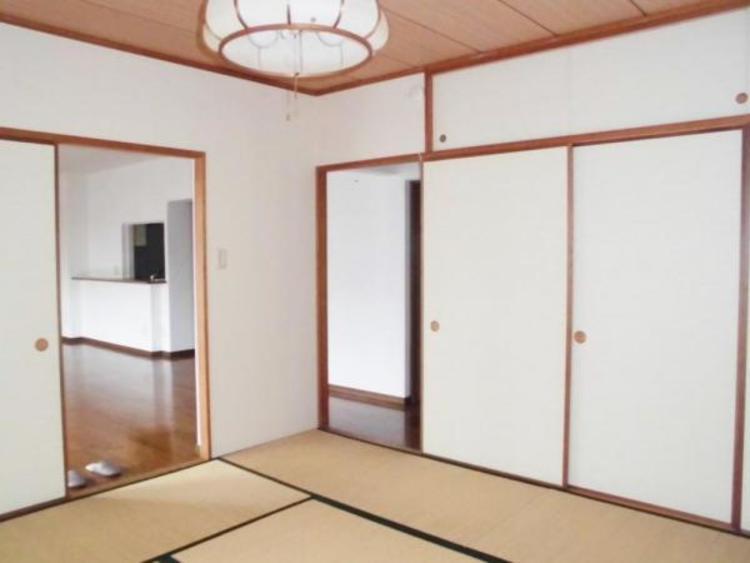 ●和室はほっと一息つけるくつろぎの空間!