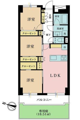 多摩川ハウスの物件画像