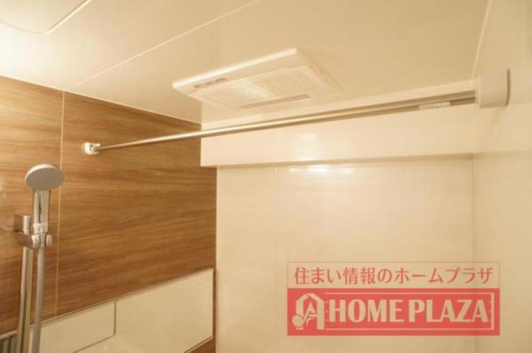 浴室乾燥機が付いているので、湿気を取り除くことができ清潔を保つことができます。