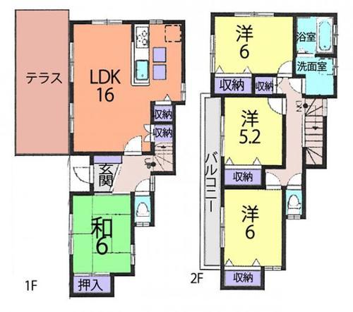 さいたま市桜区神田 中古戸建の物件画像