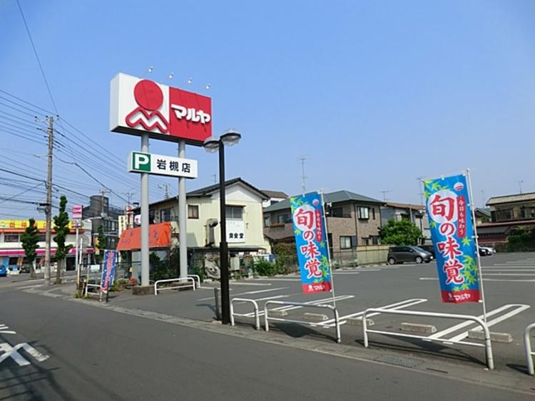 マルヤ岩槻店 徒歩11分(約870m)