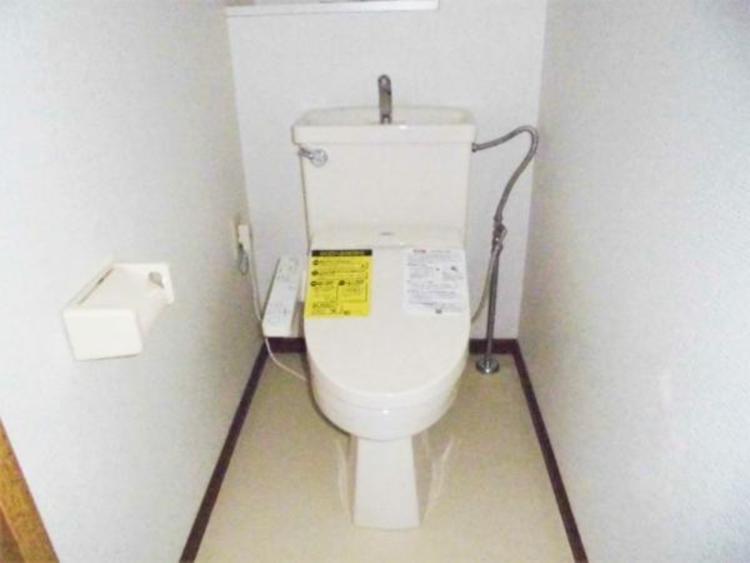 ●洗浄便座でトイレタイムも快適!