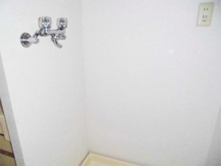 ●洗濯機スペースがしっかりあるので見た目もスッキリですね!