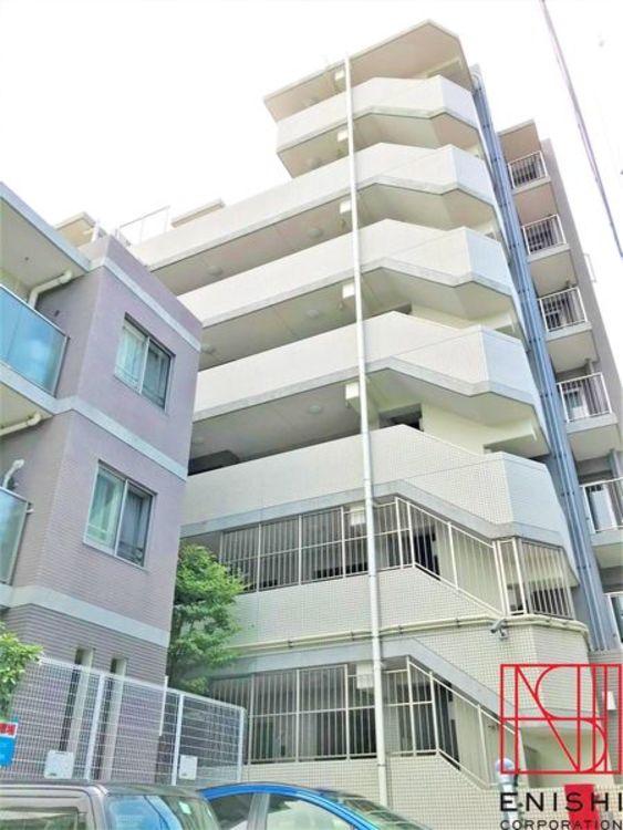 総戸数35戸、地上7階建ての1階部分。東急東横線「日吉」駅徒歩4分の好立地。充実の周辺環境です。