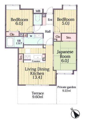 モリス多摩永山ガーデンの物件画像