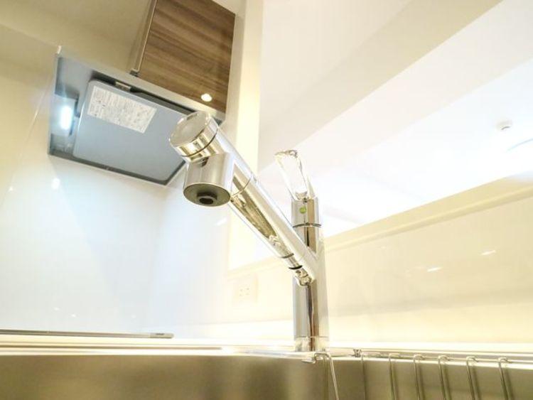 おいしい水を毎日飲める浄水器一体型水栓をご用意。