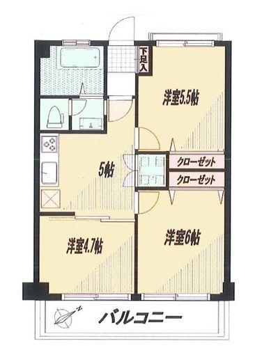調布たま川台住宅の画像