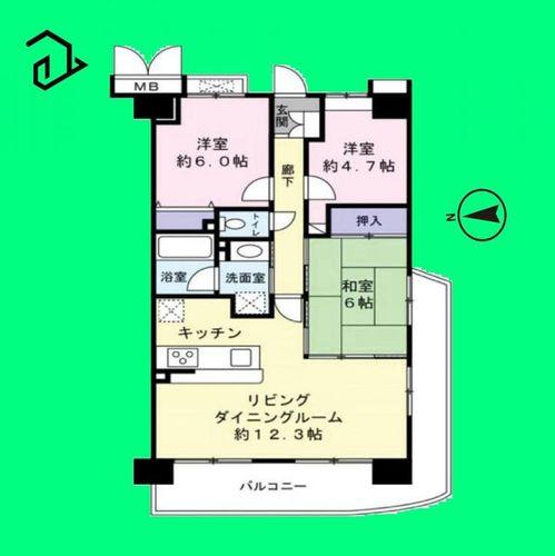 アドリーム石神井公園(309)の物件画像