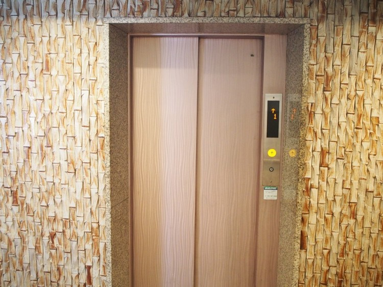エレベーターがあるので昇り降りも楽々。
