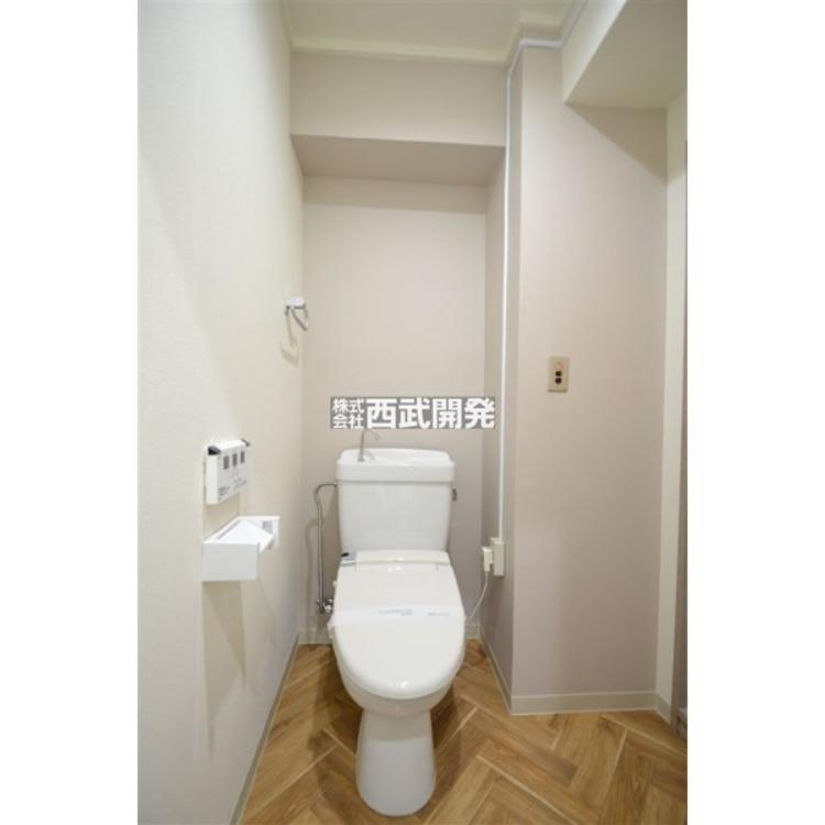 新規交換済みのトイレですから気持ちよくお使いいただけます。