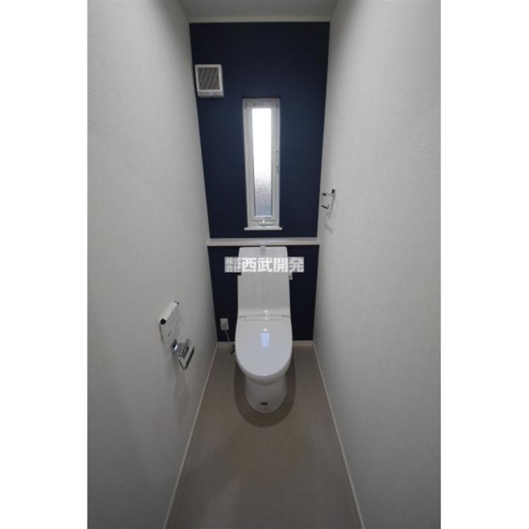 いつも綺麗に清潔に!ウォシュレット付きトイレです。