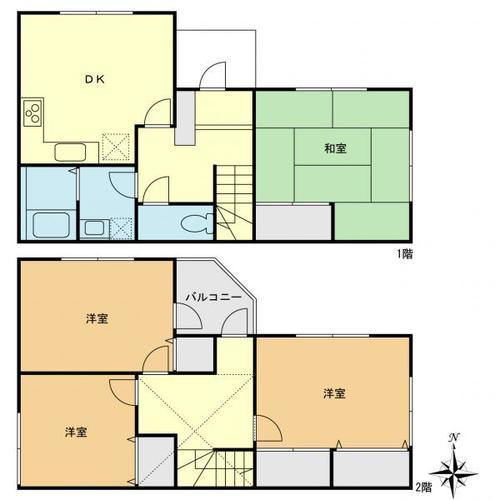 足立区六木1丁目 再生住宅の物件画像