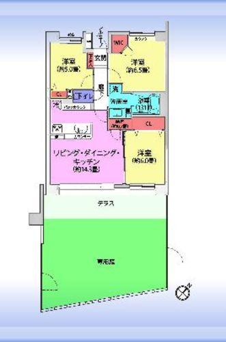武蔵浦和パーク・ホームズサザンコートの画像