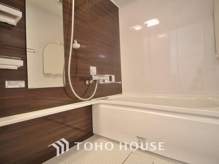 「リフォーム済・浴室」ユニットバスを新しく入れ替えしております。もちろん追い炊き給湯器・浴室乾燥機付きで機能性にも優れた快適なバスルームになっています。