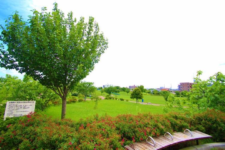 東立石緑地公園:740m