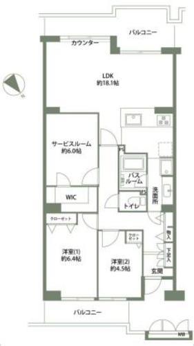戸塚ガーデンハウスB棟の物件画像