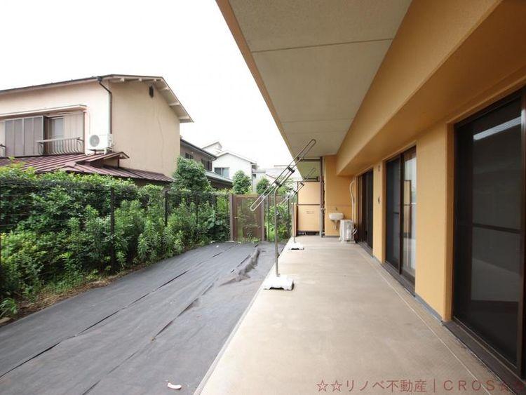 広々としたお庭スペース!ガーデニング、家庭菜園、プール遊び・・憧れのライフスタイルを叶えられます
