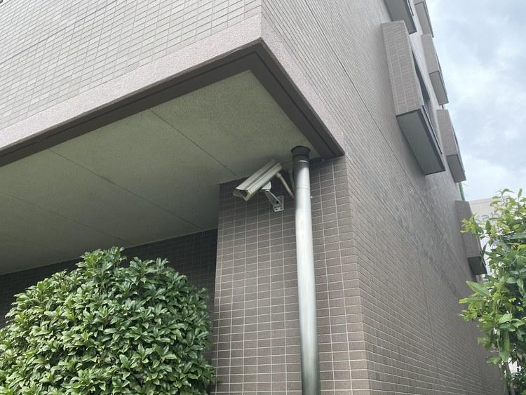 防犯カメラが付いております。