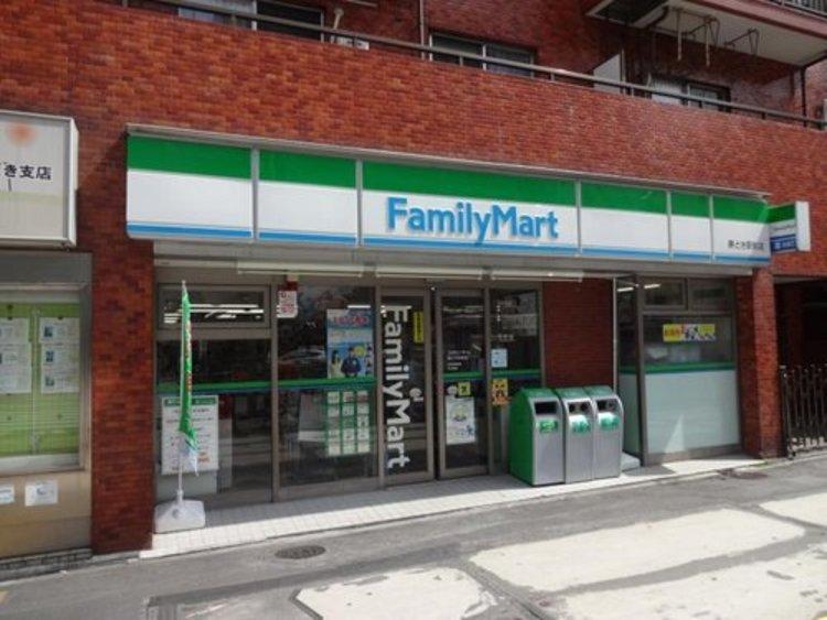 ファミリーマート勝どき駅前店まで147m。「あなたと、コンビに、ファミリーマート」 「来るたびに楽しい発見があって、新鮮さにあふれたコンビニ」を目指してます。