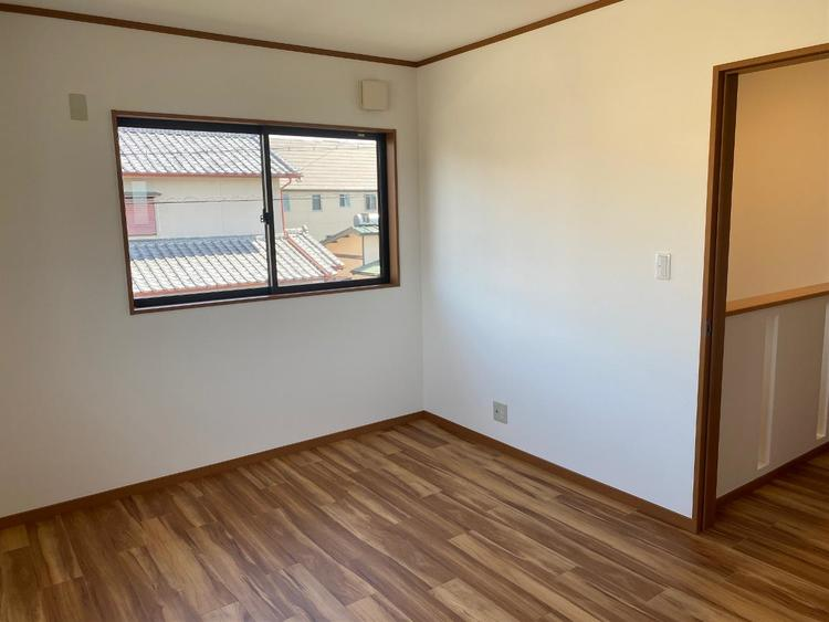 全居室2面採光で、明るく風通し良好です。
