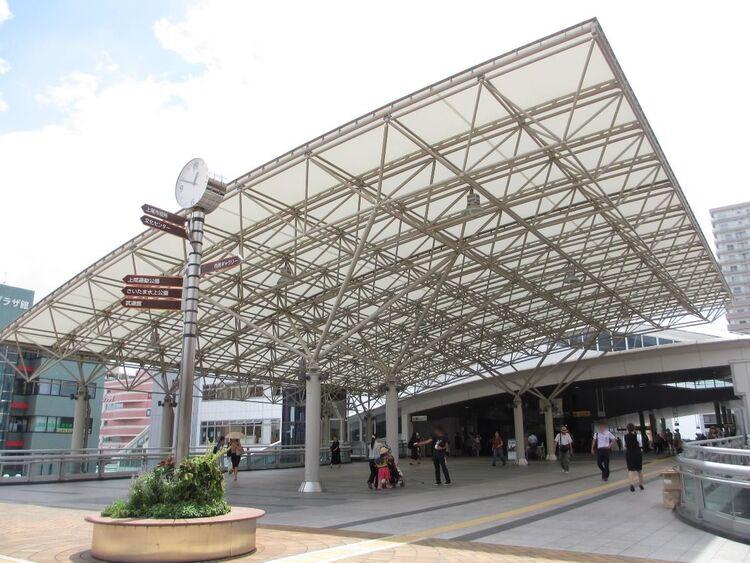 「上尾」駅