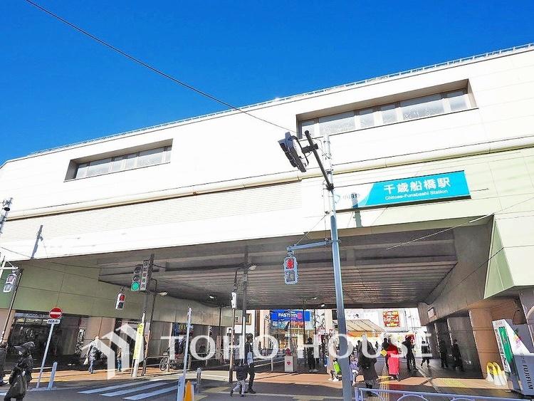 小田急線「千歳船橋」駅 距離640m