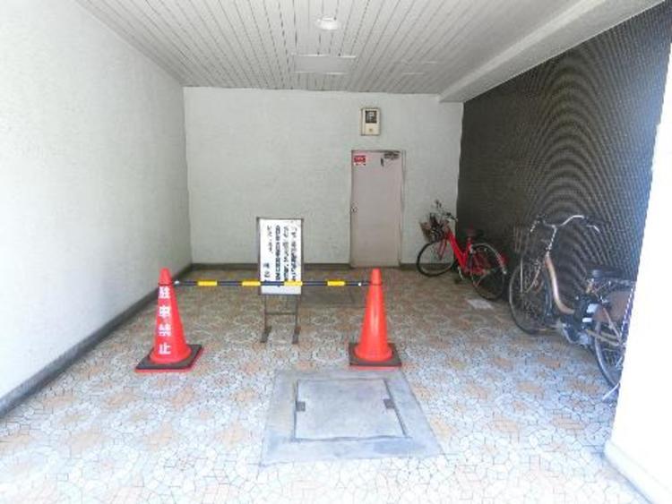 駐輪場です。最新の空き状況はご確認ください。