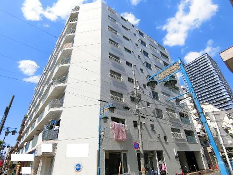 京浜東北線「蕨駅」徒歩約4分の立地です。