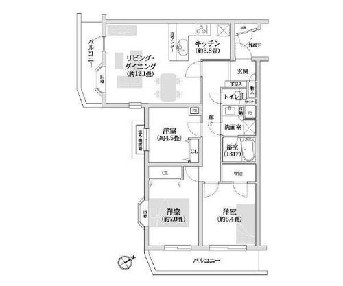 横浜南軽井沢パークホームズの物件画像