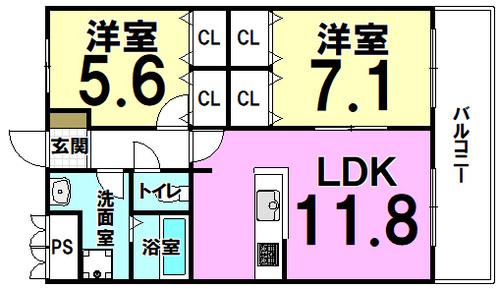 コスモ東住吉中野の画像