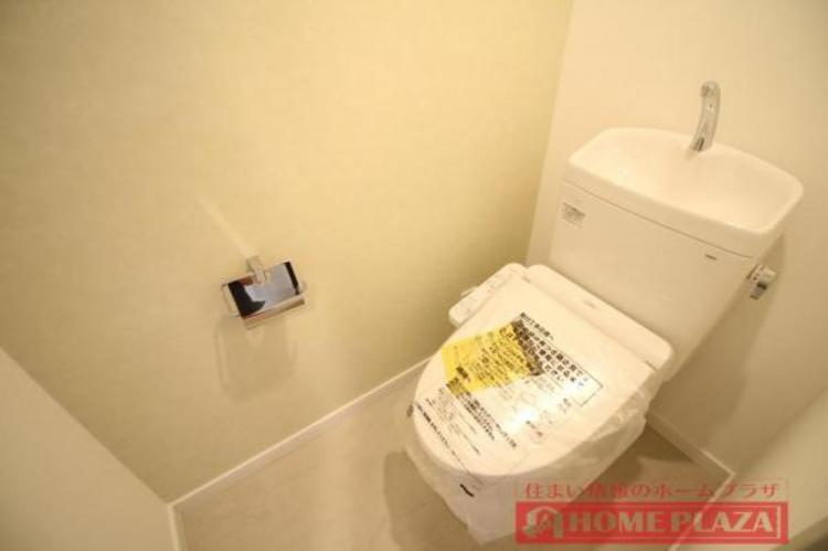 トイレはもちろん洗浄付きで快適です。