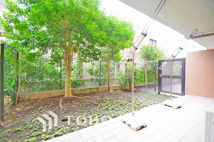 日当たりのよい専用庭