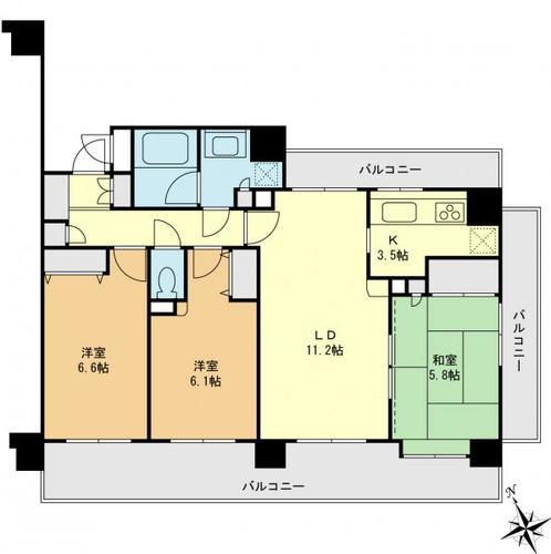 ライオンズマンション一之江壱番館の画像