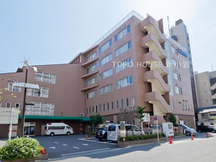 江東病院:1856m