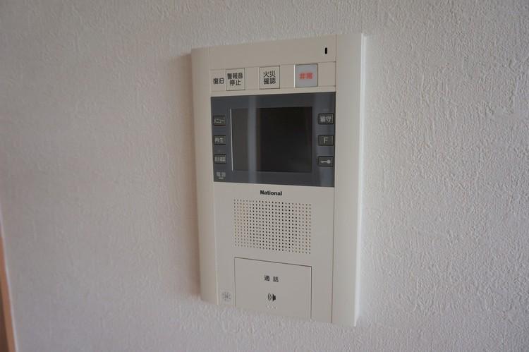 テレビモニター付きインターホン