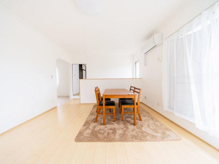 戸建て感覚のテラスハウス 専有面積約85㎡の3LDK