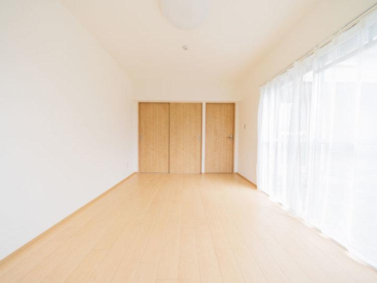 1階部分のお部屋も、2面採光で明るく風通し良好