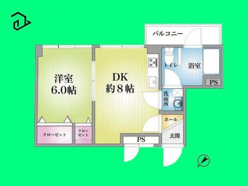 セイントマンション(403)の物件画像