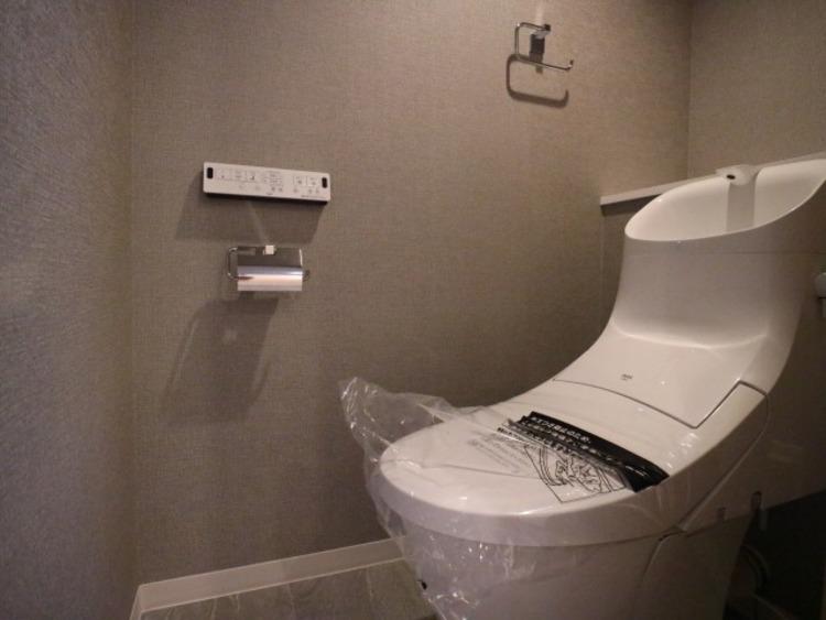 プライベート空間として機能や内装にこだわったトイレ。