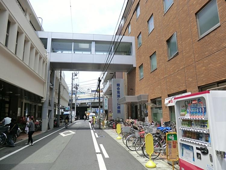 総合高津中央病院 徒歩5分(約350m)