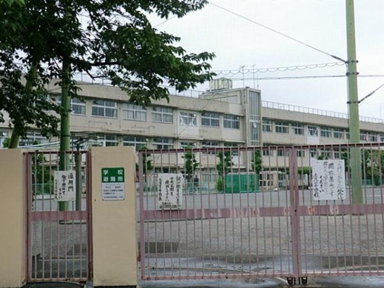 大田区立志茂田中学校 580m